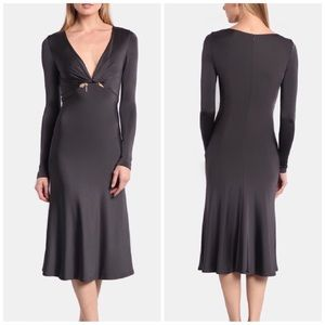 NWT Cushnie Et Ochs Graphite Magdalena Dress